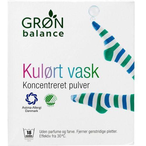 Gron balance (kosmetyki, środki czystości) Proszek do prania kolorowych ubrań 785 g - gron balance