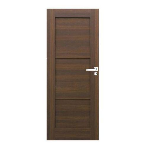 Drzwi pełne Tre 90 lewe orzech north (5901525995787)
