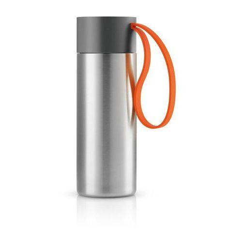 Eva solo Stalowy kubek termiczny to go cup, pomarańczowy -