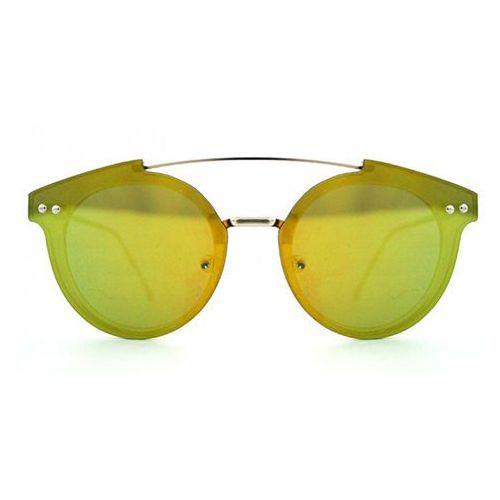 Okulary Słoneczne Spitfire Trip Hop 2 Crystal Yellow/Gold Mirror