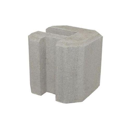 Łącznik betonowy narożny 22x22x20cm JONIEC, LDN20_SZAR
