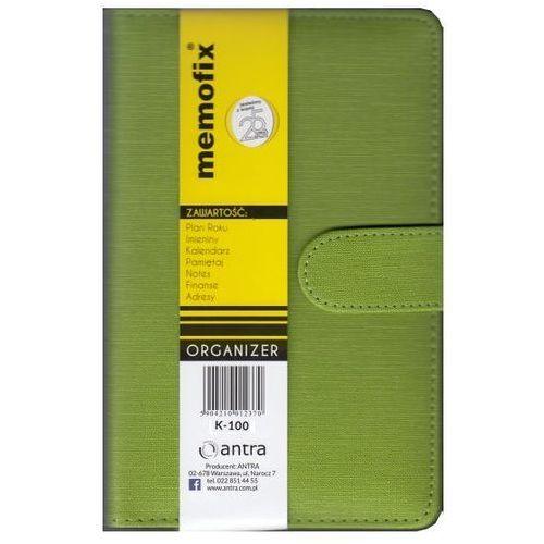 Antra Organizer memofix k-100 zielony - od 24,99zł darmowa dostawa kiosk ruchu (5904210012431)