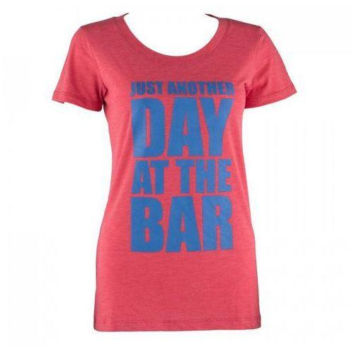 t-shirt treningowy damski rozmiar xl czerwony marki Capital sports