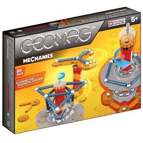 Klocki konstrukcyjne Geomag - Mechanics 86 elementów 0871772007210