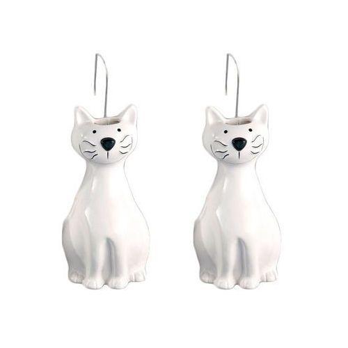 Ceramiczny nawilżacz powietrza na kaloryfer kot, 2 sztuki w komplecie, marki Wenko