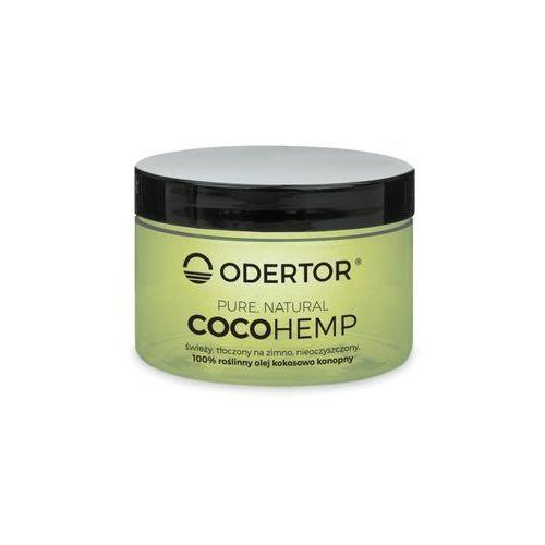 """Odertor manufaktura Olej kokosowo-konopny 200 ml - wegańskie """"masło"""" nowość cocohemp (5906395832941)"""