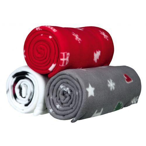 Trixie Kocyk z motywem świątecznym mix kolorów 150x100cm nr kat. 924682, 43
