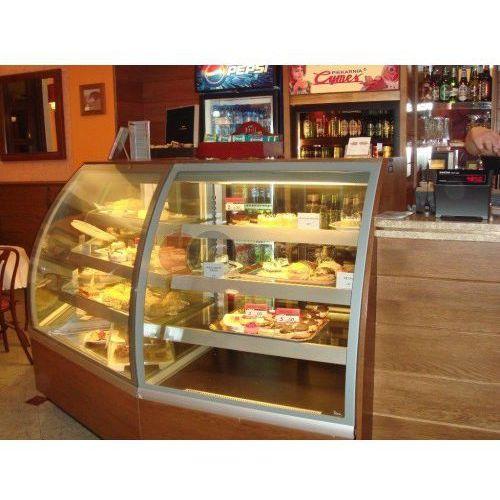 Lada/witryna cukiernicza chłodnicza narożna zewnętrzna 1150x800x1360 Vienna NZ/45/CH, C-1 VN NZ/45/CH
