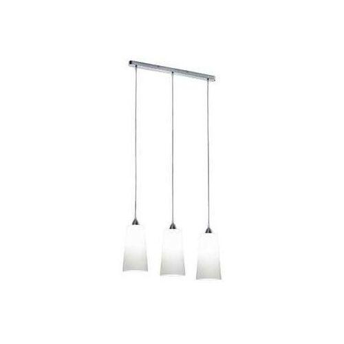 LAMPA wisząca KONI R30553001 Trio metalowa OPRAWA listwa ZWIS szklane tuby białe (4017807241396)