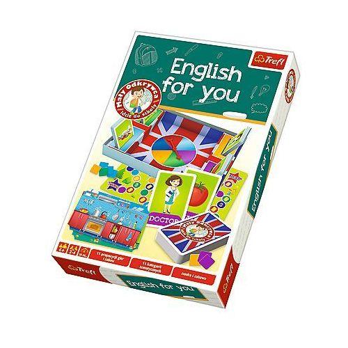 gra angielski, mały odkrywca marki Trefl