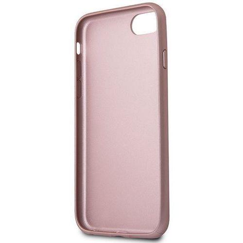 Guess Iridescent - Etui iPhone 8 / 7 (różowo złoty) (3700740417478)