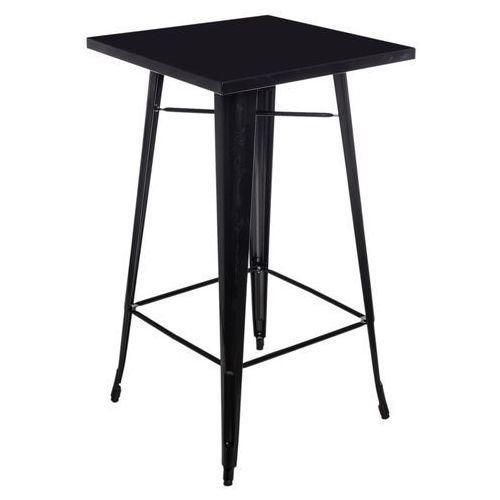 Stół barowy paris - czarny marki D2.design