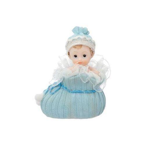 Party deco Figurka dziecko w niebieskim bucie - 10,5 cm (5901157428172)