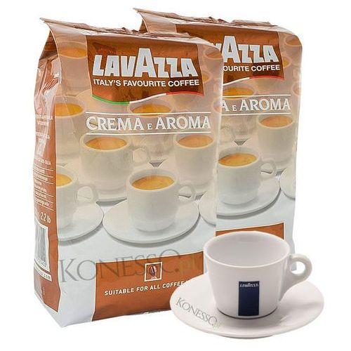 ZESTAW - Kawa Lavazza Crema e Aroma 2x1kg + Filiżanka Lavazza