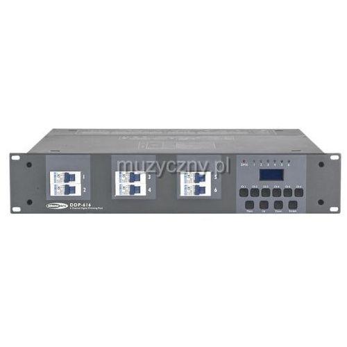 Showtec DDP-616 dimmer DMX 6-kanałowy