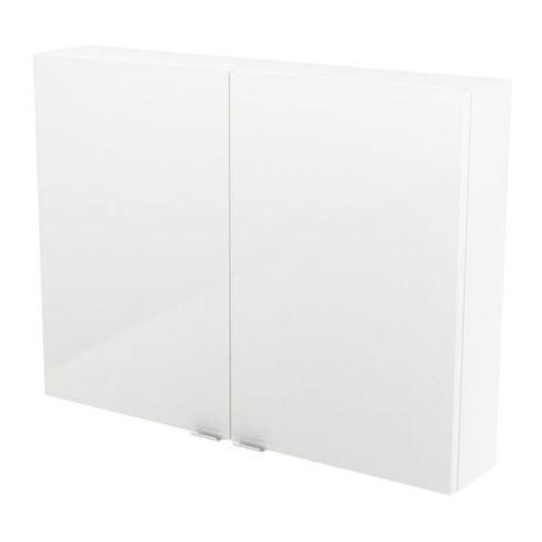 Goodhome Szafka imandra 80 x 60 x 15 cm biała (3663602933670)