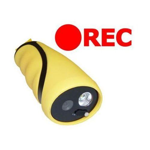 Podwodna Kamera Wyczynowa Nagrywająca (4GB) + Zapis Audio/Video + Oświetlenie LED + Akcesoria...