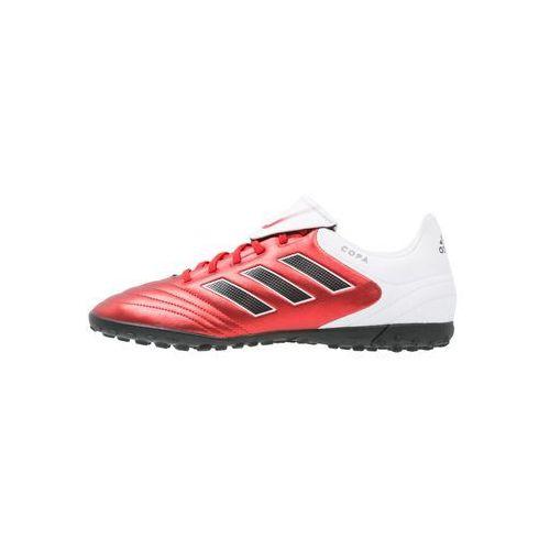 adidas Performance COPA 17.4 TF Korki Turfy red/core black/white z kategorii piłka nożna