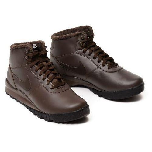 Buty Nike Hoodland Leather 654887-220, kolor brązowy