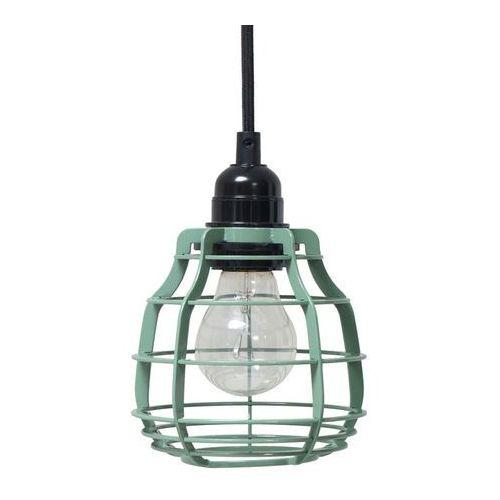 :: lampa lab zielona z włącznikiem - zielony marki Hk living