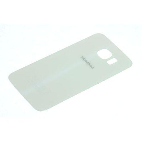 Klapka baterii galaxy s6 oryginalna grade a biała - biały / white \ grade a marki Samsung