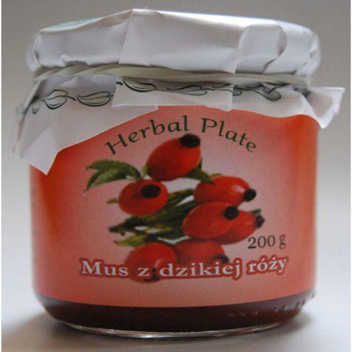 Mus z owoców dzikiej róży - 200 g marki Herbasalin sp. z o. o.
