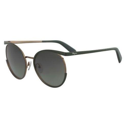 Salvatore ferragamo Okulary słoneczne sf 165s 312