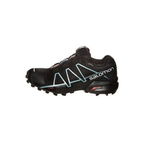Salomon  speedcross 4 gtx obuwie do biegania szlak black/metallic bubble blue (0889645080789)
