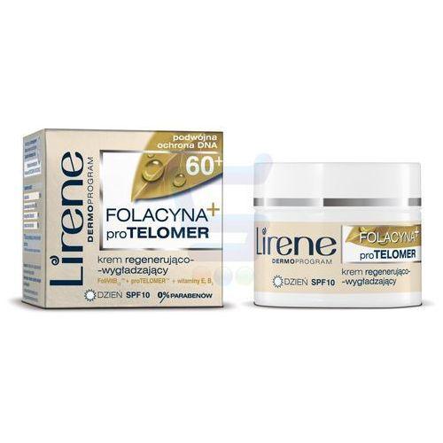 Lirene  folacin duo expert 60+ intensywny krem przeciwzmarszczkowy spf 10 (extra rich anti-wrinkle cream) 50 ml