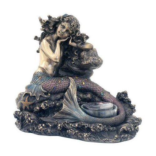 Świecznik z syreną (wu76026a4) marki Veronese
