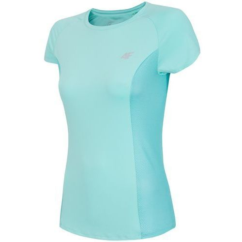4f Damska koszulka fitness z18 tsdf002 miętowy s