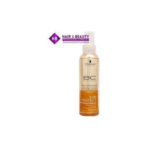 Schwarzkopf Professional BC Bonacure Sun Protect mieniący się olejek do włosów narażonych na szkodliwe działanie promieni słonecznych (Shimmer Oil wit (4045787236095)