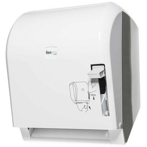Pojemnik na ręczniki papierowe w roli POP Faneco plastik biały (5901764291923)