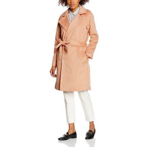 Saint Tropez Płaszcz wełniany /Płaszcz klasyczny tawny, poliester