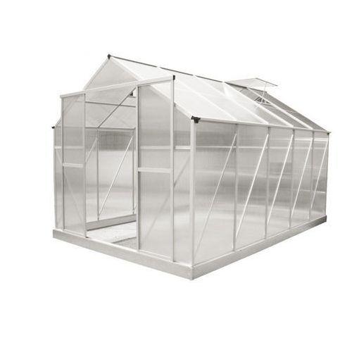 Hecht czechy Hecht greengrocer szklarnia ogrodowa aluminiowa 365x244x250 + podstawa gratis - oficjalny dystrybutor - autoryzowany dealer hecht