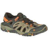 Męskie sandały all out blaze sieve j32835 brązowy/pomarańczowy 42, Merrell
