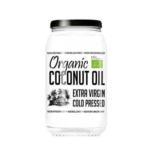 Olej Kokosowy Organiczny Virgin Nierafinowany 1L DIET-FOOD