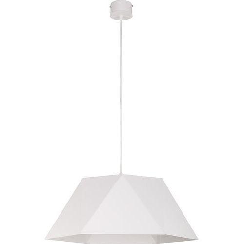 Lampa wisząca Sigma Ice L biała do salonu 50 cm, 30701
