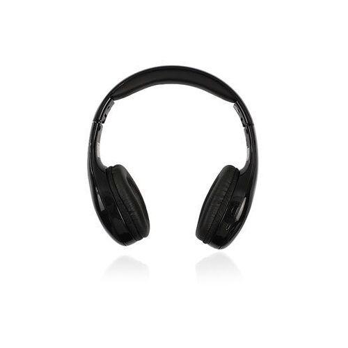 Słuchawki nauszne bluetooth 3.0 Forever BHS-200 - czarne
