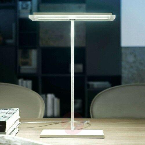 Linea light Płaska lampa stołowa led dublight led