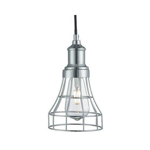 Searchlight 6836 lampa wisząca tapered cage chrom