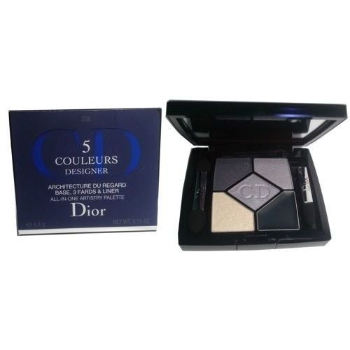 Dior 5 Couleurs Designer paleta cieni do powiek odcień 208 Navy Design 4,4 g