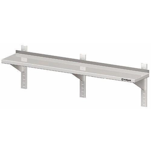 Półka wisząca przestawna pojedyncza 1500x300x400 mm | STALGAST, 981763150