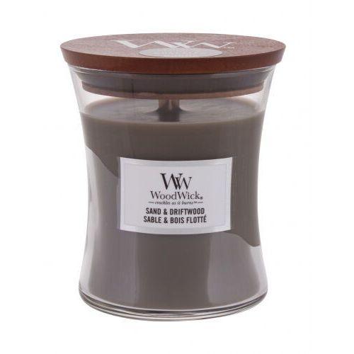Świeca WoodWick średnia Sand & Driftwood - 92378E, 92378