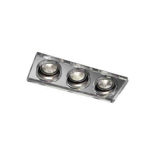 Philips Massive 59563/11/10 - LED oprawa wpuszczana łazienkowa SAPPHIRE 3xGU10/50W + 3xLED/4W