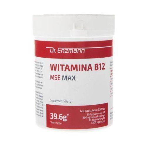 Dr. Enzmann Witamina B12 MSE MAX - 120 kapsułek