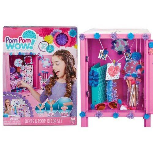 Pom pom wow zestaw dekoratora | 70 pomponów, magnesy, lusterko... - 70 pomponów dekoratora marki Tm toys