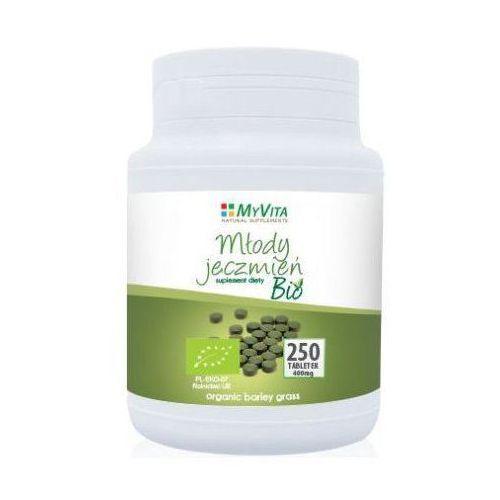 Tabletki Młody jęczmień BIO 250 tabletek (Myvita)