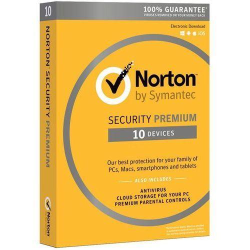 Symantec Program norton security 3.0 premium (10 stan. 12 mies.) + darmowy transport!