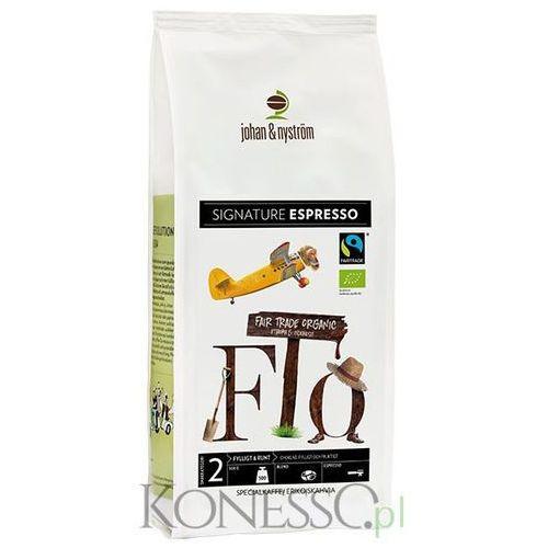 Johan & nyström - espresso fairtrade marki Johan&nystrom